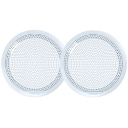 "FUSION EL-X651W 6.5"" Classic Grill Covers - White f/ EL Series Speakers"