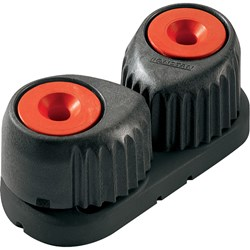 Ronstan Small Alloy Cam Cleat - Red, Black Base