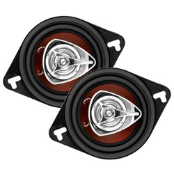 "Boss Audio CH3220 3.5"" 140W 2-Way Loudspeaker - Black - Pair"