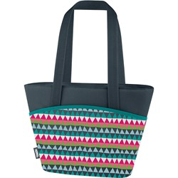 Thermos Raya 9 Can Lunch Tote - Colorful Triangles