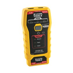 Klein Tools LAN Explorer™ Data Cable Tester w/Remote
