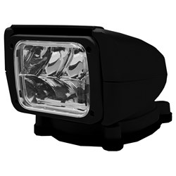 ACR RCL-85 Black LED Searchlight w/Wireless Remote Control - 12/24V