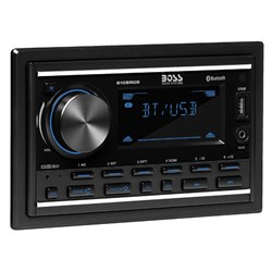 Boss Audio 810BRGB In-Dash Double-Din MP3-Compatible Digital Media AM/FM Receiver w/USB Charger & Multicolor Illumination Options