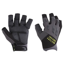 Mustang EP 3250 Open Finger Gloves - Small - Grey/Black