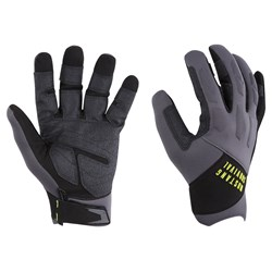 Mustang EP 3250 Open Finger Gloves - XX-Large - Grey/Black
