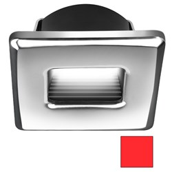 i2Systems Ember E1150Z Snap-In - Polished Chrome - Square - Red Light