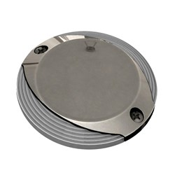 Lumitec Scallop Pathway Light - Warm White - Stainless Steel Housing