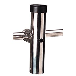 "Sea-Dog Rail Mount Adjustable Rod Holder Fits Diameter 1-11/16"" - Formed & Cast 316 Stainless Steel"