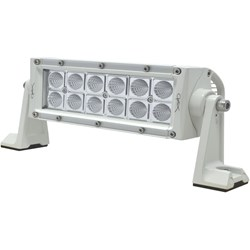 "Hella Marine Value Fit Sport Series 12 LED Flood Light Bar - 8"" - White"