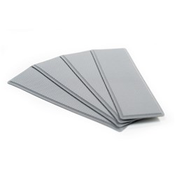 "SeaDek Embossed 5mm 4-Piece Step Kit - 3.75"" x 12.75"" - Storm Gray"