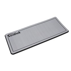 "SeaDek Dual Density Helm Pad - 14"" x 36"" 20mm - Small - Storm Gray w/Black Laser SD Logo"