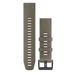 Garmin QuickFit® 22 Watch Band - Coyote Tan Silicone
