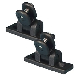 Carver Deck Hinge Nylon Pair - Black