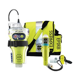 ACR GlobalFix™ V4 Category 2 w/Rapid Ditch Bag, C-Strobe, H2O Signal, Mirror, Rescue Whistle Survival Kit