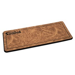 "SeaDek 14"" x 36"" 20mm Dual Density Small Helm Pad Mocha/Black Realtree Max Pinline Smooth - 355.6mm x 914mm x 20mm"