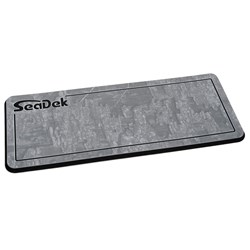"SeaDek 14"" x 36"" 20mm Dual Density Small Helm Pad Storm Gray/Black Realtree Timber Pinline Smooth - 355.6mm x 914mm x 20mm"