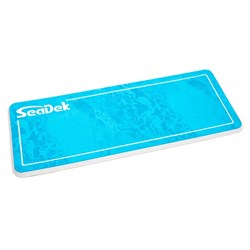 "SeaDek 16"" x 39"" 20mm Dual Density Large Helm Pad Bahama Blue/White Realtree Wave Camo Pinline Smooth - 406.4mm x 990mm x 20mm"