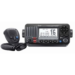 Icom M424G Fixed Mount VHF w/Built-In GPS - Black
