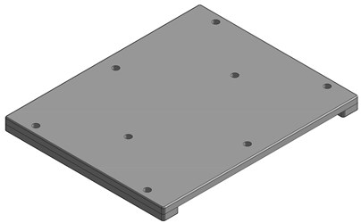 Edson - ADAPTER PLATE FOR SIMRAD HALO