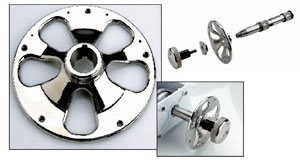 Edson - Adapter, Wheel Flange, Tapered Shaft MUST SPECIFY WHEEL TYPE