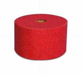 "3M 2.75"" x 25 yds. Red 120A Grit Roll"